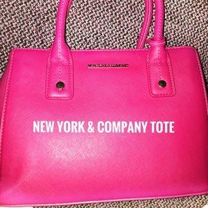 Mini Pink Tote 👛 by NY & Company!